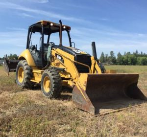 2007 CAT 414E IL SKIP LOADER