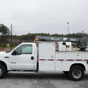 2000 Ford F550 Service Truck