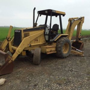 1994 CAT 416B Backhoe