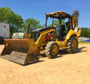 2006 CAT 416E Backhoe