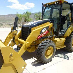 2009 CAT 420E