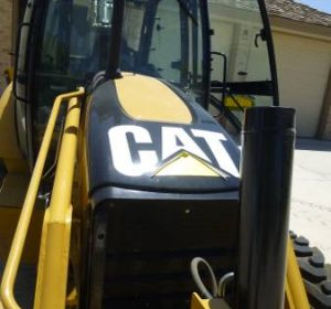 2009 CAT 420E Backhoe