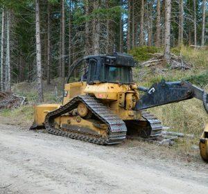 CAT 527 SKidder