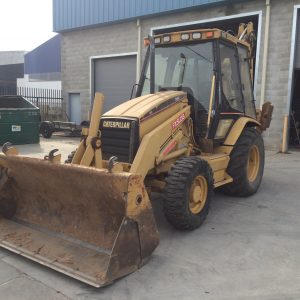2000 CAT 416C Backhoe
