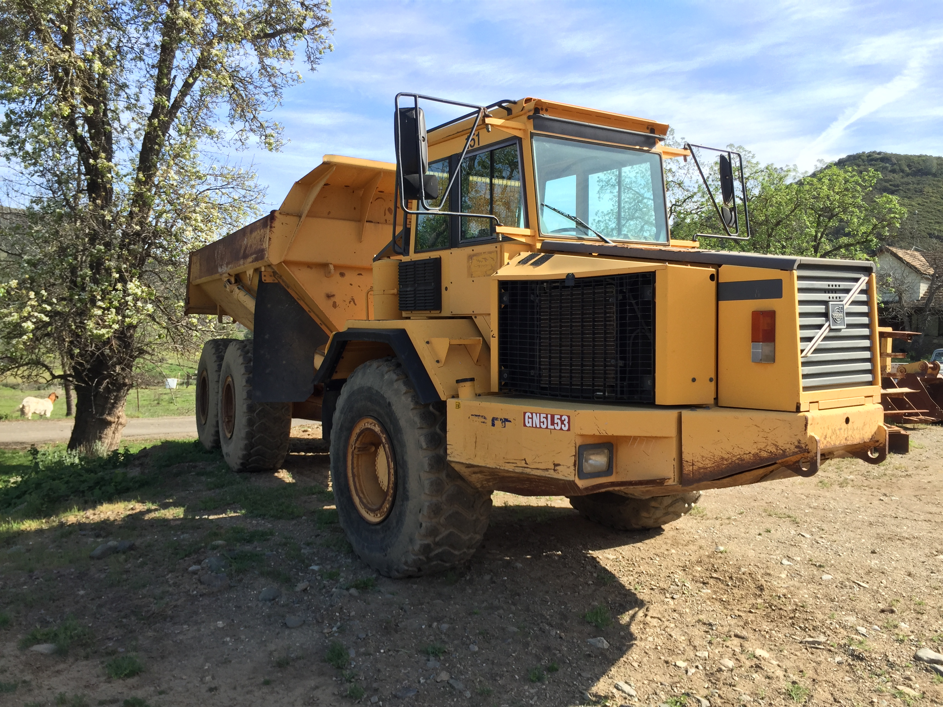 1999 VOLVO A30C HAUL TRUCK - Pacific Coast Iron - Used Heavy Equipment Dealer