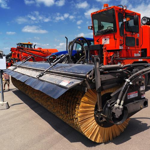 Sweepers/ Broom Equipment