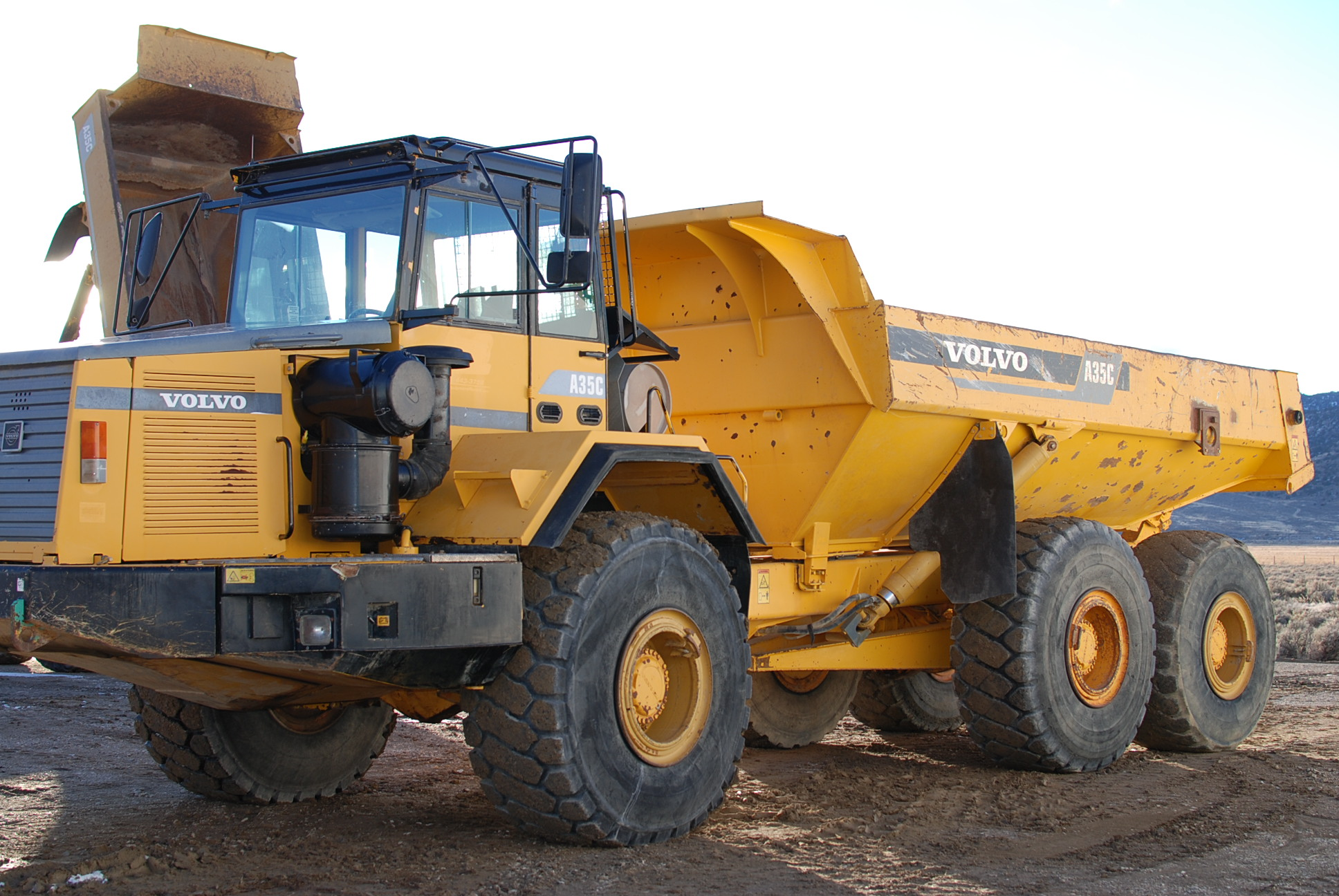 1999 Volvo A35C Haul Truck(sold)