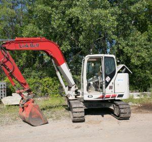 2012 Link Belt Spin Ace 80 Excavator