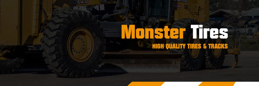 Monster Tires - Heavy Equipment Tires