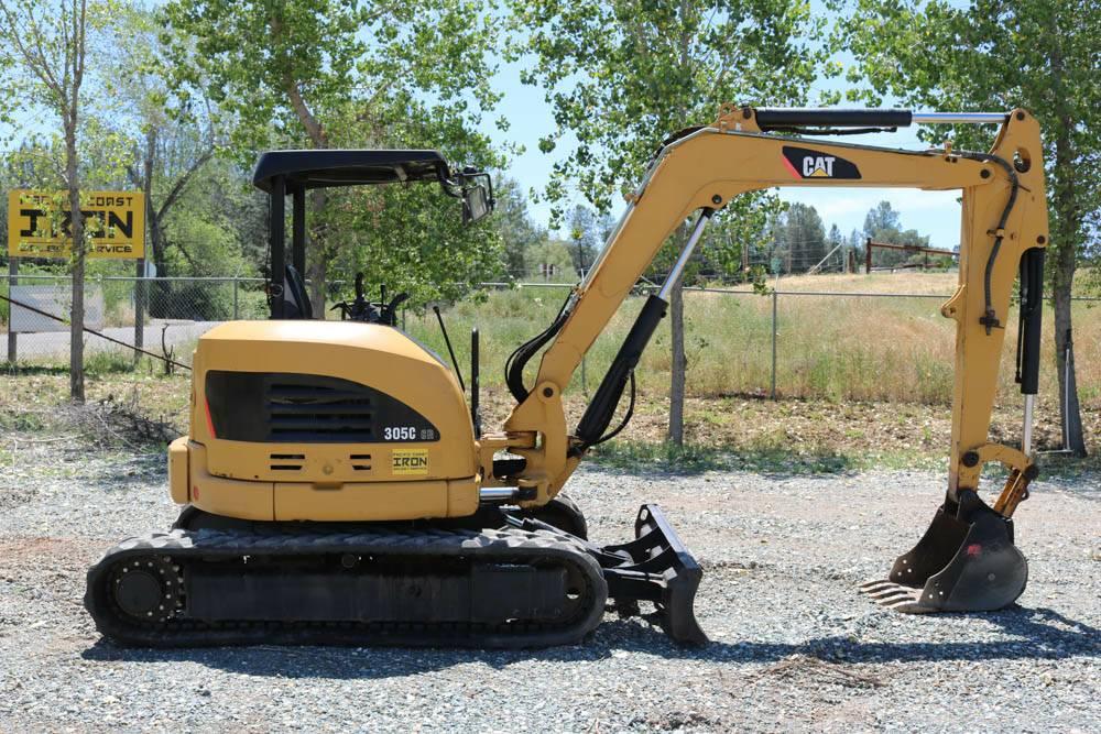2008 CAT 305C CR Mini Excavator, USED 2008 CAT 305C CR Mini