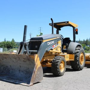 2011 deere 210lj skip loader for sale