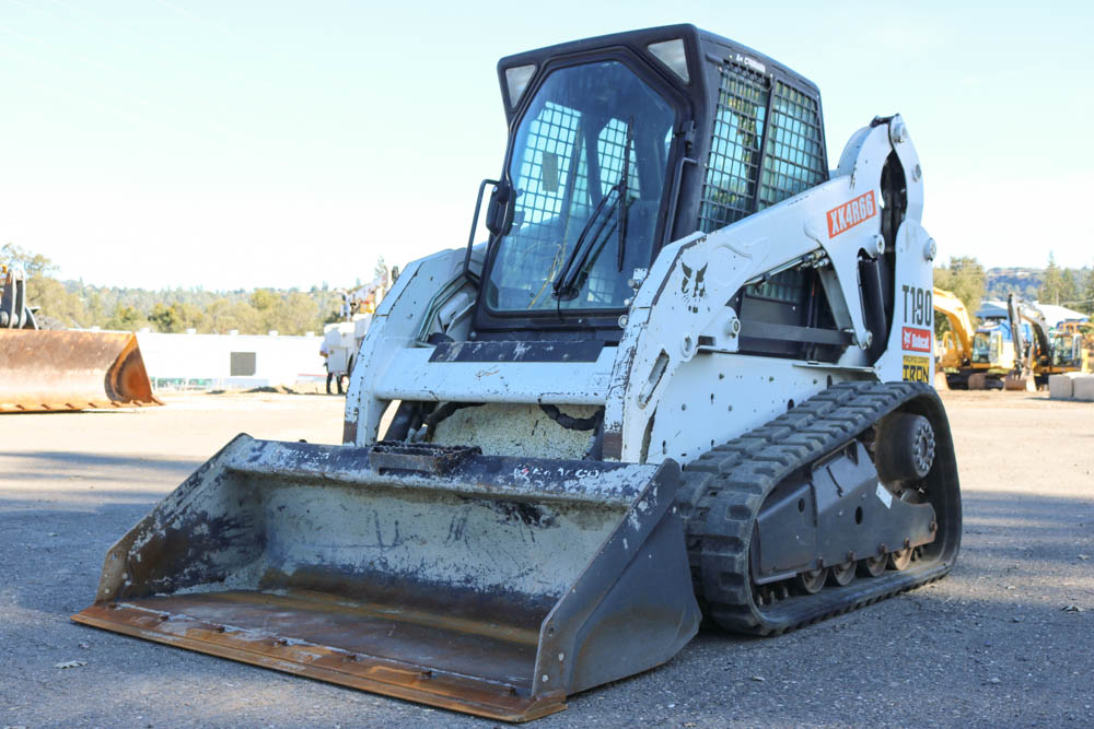 2013 BOBCAT T190 SKID STEER-(SOLD) - Pacific Coast Iron - Used Heavy