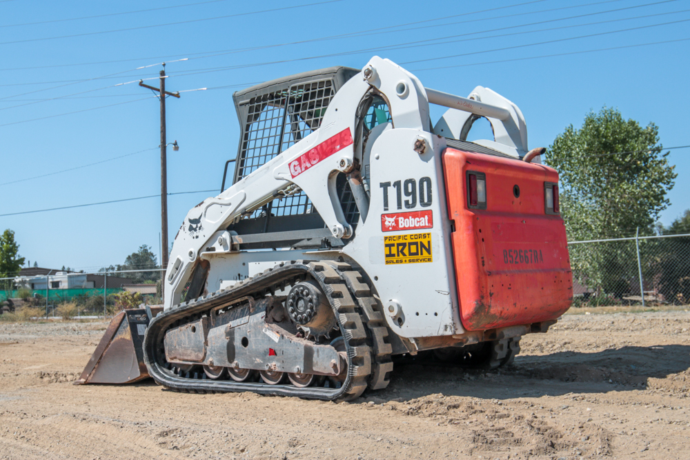 Skid Steer Equipment Rentals Sacramento