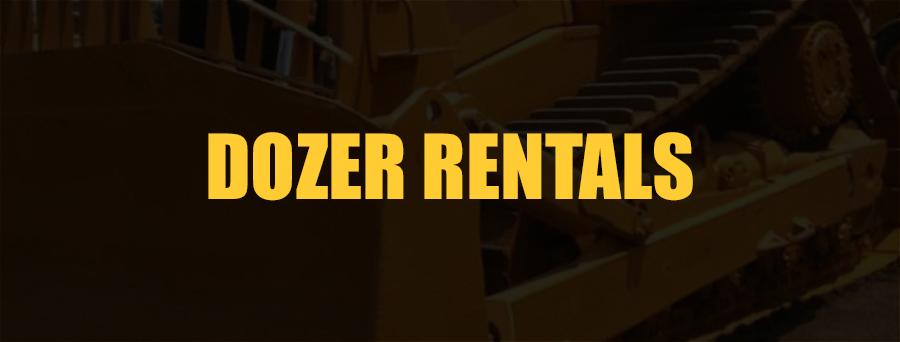 Dozer Rental Sacramento, CA