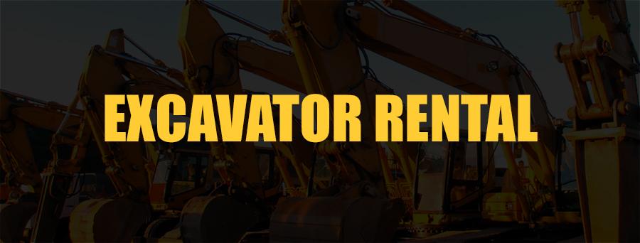 Excavator Rental Sacramento, CA