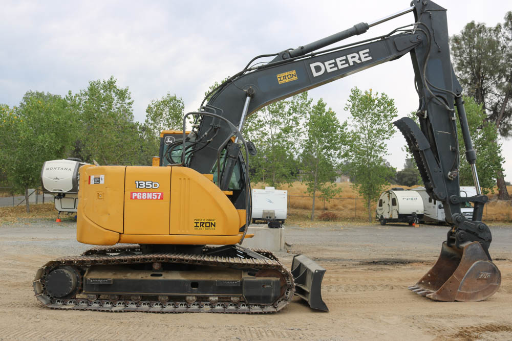 John Deere Excavator Rental Sacramento, CA