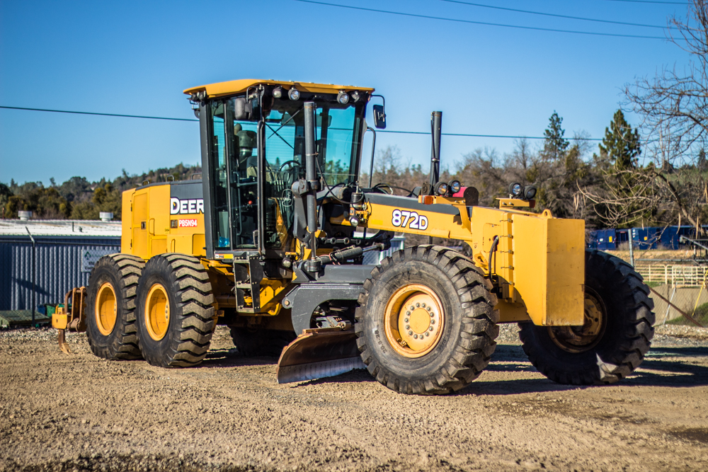 Motor Grader Rental Sacramento John Deere Caterpillar