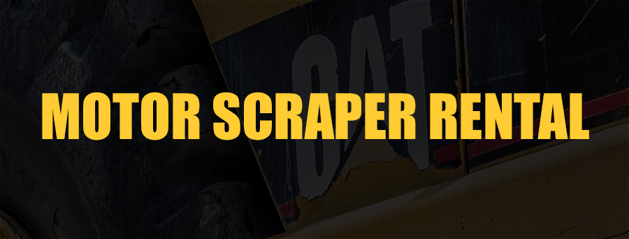 Motor Scraper Rental Sacramento