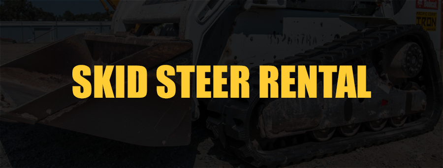 Tracks and Wheeled Skid Steer Rentals