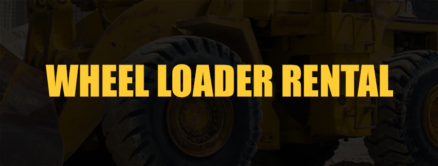 Wheel Loader Rental Sacramento, CA